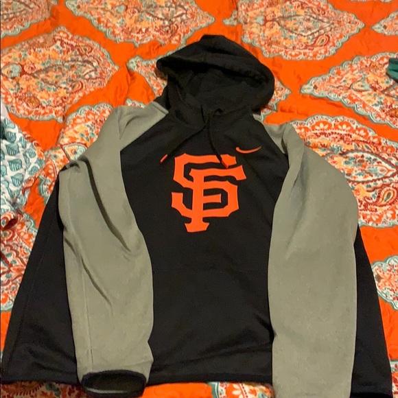 sale retailer 26975 6e48e women's nike san francisco giants hoodie
